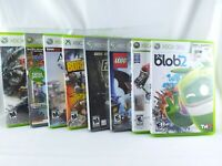 Lot of 8 Microsoft Xbox 360 Video Games Bundle All are CIB | FREE SHIPPING!