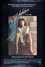FLASHDANCE * CineMasterpieces MOVIE POSTER FLASH DANCE ORIGINAL ROLLED NSS 1983