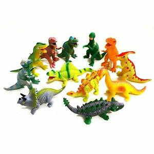 Jurassic Squishy Dinosaur Figure Squeezy Fidget Toy Collectible Boys Dino Favour