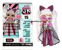 LOL SURPRISE JK BAMBOLA DIVA MINITURE OMG PRESENT SORPRESA ALL STAR QUEEN BEE 5G