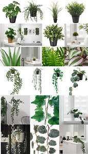 IKEA Artificial False Potted Plant In/Outdoor Plant Long Lasting Hanging Planter