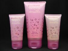 x3 American Girl HOPES and DREAMS Shimmer Body Lotion Set NEW Bath & Body Works