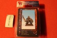 Rackham Confrontation Warrior of the Abyss BNIB Metal Dwarf Dwarves Mid Nor OOP