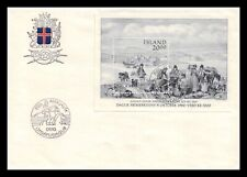 Iceland 1986 FDC, Stamp Day. Lot # 3.