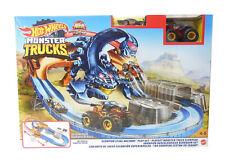 Mattel Hot Wheels Skorpion-Beschleuniger Rennbahn Set inkl. 2 Spielzeugautos NEU