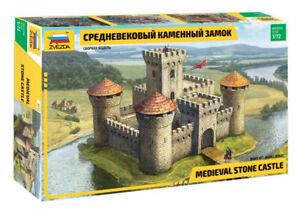 1/72 Medieval stone castle (Zvezda)