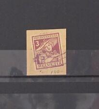 HELVETIA 1916 Sc:B4 used $37,50 # Lot 2366