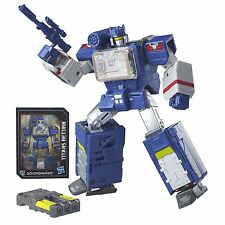 Transformers Generations Titans Return Leader Class SOUNDWAVE Soundblaster Toy
