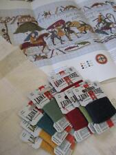 Sajou museum & heritage bayeux tapisserie broderie kit-crossing the couesnon