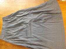 "Ladies BHS/IKKS Grey A Line Long Skirt Size 8 Length 41"" (£22) New"