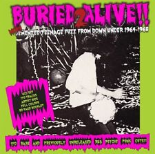 BURIED ALIVE! 2 Demented Teenage Fuzz From 1964-68   6 CD / FREE SHIP BY COURIER