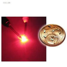 50 x SMD LED 0603 Rot mini LEDs rote SMDs red rouge rojo rosso rood tief SMT