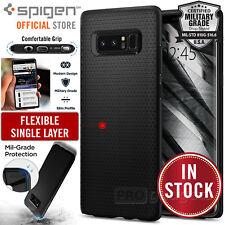 Samsung Galaxy Note 8 Spigen Liquid Air Shockproof Black Case TPU Cover