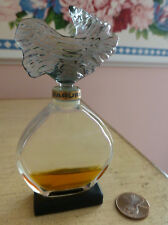 VTG 1970s Guerlain PARURE 'Wave' Flacon Parfum Extrait 0.25 Oz Approx 25% Full