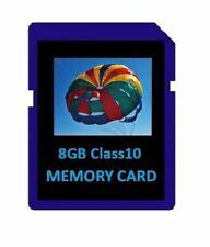 8GB Class 10 SD Memory Cards for Cameras, Trail Cameras, Dash Cams, DSLR Cameras