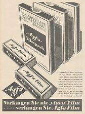 J1488 AGFA Filmpack - Pubblicità grande formato - 1929 Old advertising