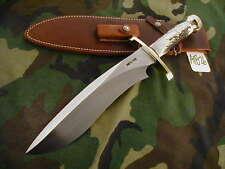 """RANDALL KNIFE KNIVES #12-11"""" LG.SASQUATCH,S#801,BLH,BSC,STAG,BNP,BFSB #A1826"""