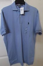 Polo Ralph Lauren Mens Short Sleeve Shirt Lt Blue Small NWT NEW