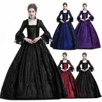 Women Dress Century Medieval Gothic Renaissance Masquerade Costume Ball Gown