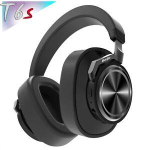 Bluedio T6s Bluetooth 5. Cordless ANC Headphones Wireless Smart Headset With Mic