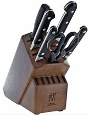 ZWILLING J.A. Henckels Pro 7-pc Knife Block Set NEW 38445-000