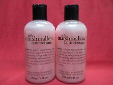Philosophy Shampoo/Shower Gel/Bubble Bath 8oz~MARSHMALLOW BUTTERCREAM~LOTo2~SEAL
