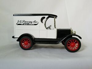 1923 Chevrolet Delivery Van Truck Replica Bank JC Penney Co. Advertising