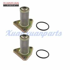 2X Oil Filter & Ring Kit For EZGO TXT MEDALIST 4 CYCLE 295/350CC Rep 26591G01