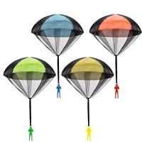 Set Tangle Free Throwing Parachute Toy Men Parachute Toy, 4 Pieces