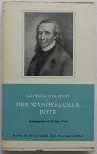 Matthias Claudius - Der Wandsbecker Bote (gebunden)