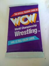 Vintage WCW Official Trading Cards 1991 Wrestling sealed pack