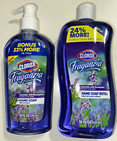 Clorx Fraganzia IS BACK! 1 Pump & 1 Refill Both in Bigger Sizes 3 Scents