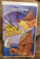 Walt Disney's The Great Mouse Detective Starring Basil of Baker Street