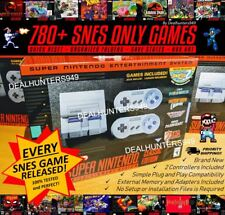 Complete 780+ SNES Only Games Classic Mini Super Nintendo Edition Console New