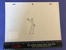 GI Joe Resolute Original Pencil Sketch Artwork Baroness One Of One