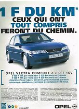 Publicité Advertising 2000 Opel Vectra Confort 2.0 DTI 16 V