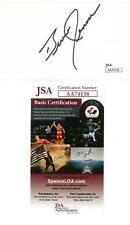 Bruce Jenner Signed Authentic Autographed 3x5 Cream Index Card JSA #AA74138