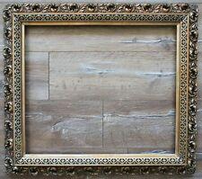 Alter vergoldeter Florentiner Stuck Bilderrahmen 62 x 53 cm Innenmaß antik