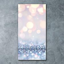 Wand-Bild Kunstdruck aus Acryl-Glas Hochformat 60x120 Glänzender Hintergrund