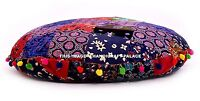 Indian Floor Pillow Cover Cotton Mandala Large Seating Cushion Pouffe Sham 32""