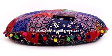 "Indian Floor Pillow Cover Cotton Mandala Large Seating Cushion Pouffe Sham 32"""