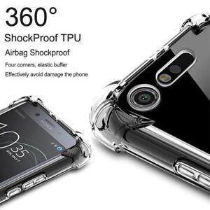 For Sony Xperia XZ3 XZ2 XZ1 XA2 XA1 Compact Clear Shockproof Slim TPU Cover Case