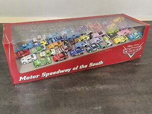 Disney Cars Motor Speedway Of The South Apple Exclusive 100% Complete