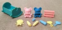 1980s and 1990s Vintage Barbie Baby Accessories (11 pieces!)