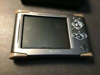 Archos AV400 Pocket Hand held Video Recorder w/case untested for parts free ship