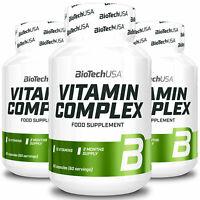 BIOTECH USA VITAMIN COMPLEX - Integratore alimentare 13 vitamine - alta qualità