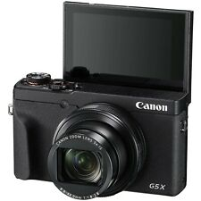 Canon PowerShot G5 X Mark II 20.1MP Point & Shoot 4K Camera - Black 24mm 5x zoom