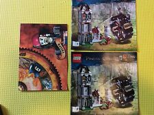 New Lego Instruction Manual ONLY Pirates of Caribbean The Mill 4183 Both Books