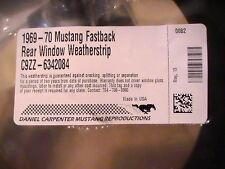 1969-1970 Mustang, Boss, Shelby, Mach 1, Fastback - Rear Glass Gasket