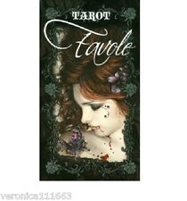 Favole Tarot NEW Sealed Deck 78 Color Cards Romantic Gothic Images Vampire Fairy